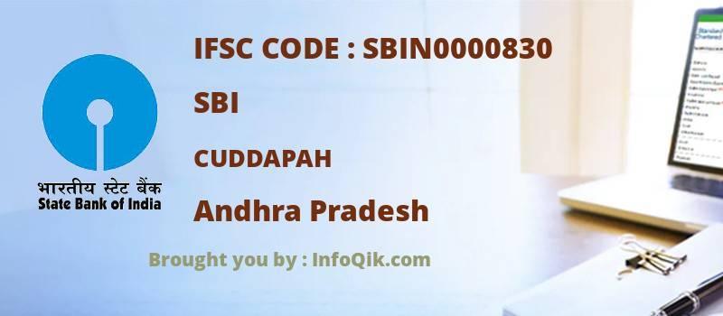 SBI Cuddapah, Andhra Pradesh - IFSC Code