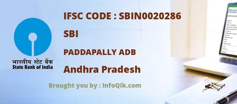 SBI Paddapally Adb, Andhra Pradesh - IFSC Code