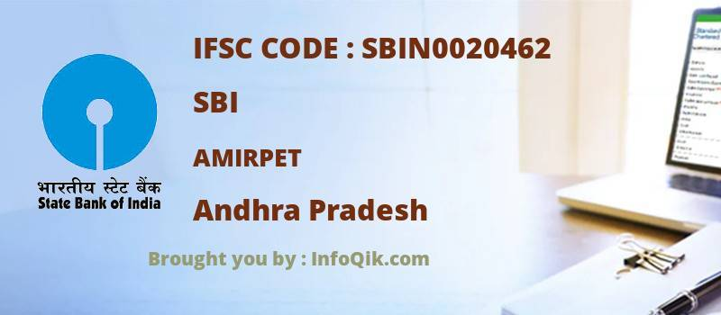 SBI Amirpet, Andhra Pradesh - IFSC Code