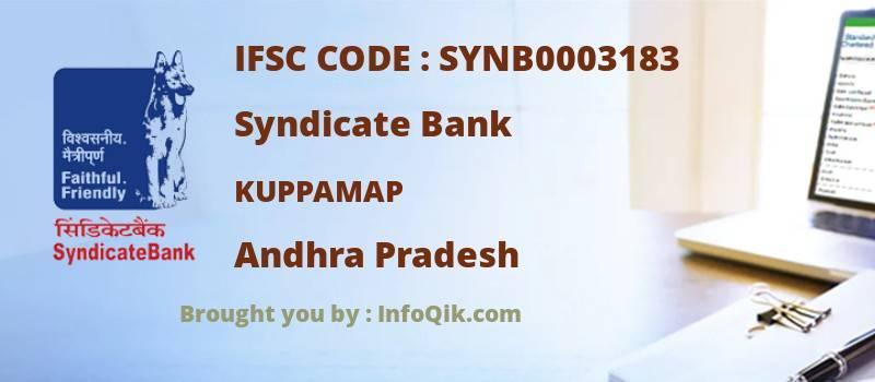 Syndicate Bank Kuppamap, Andhra Pradesh - IFSC Code