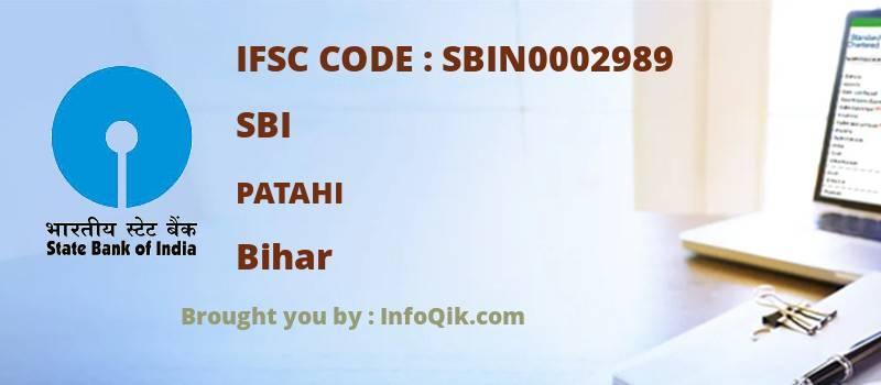 SBI Patahi, Bihar - IFSC Code