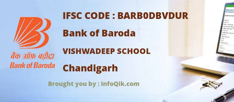 Bank of Baroda Vishwadeep School, Chandigarh - IFSC Code