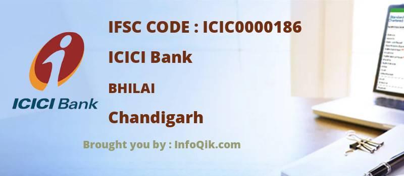 ICICI Bank Bhilai, Chandigarh - IFSC Code