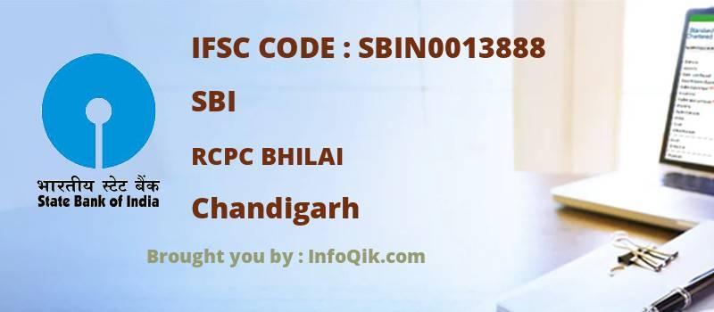 SBI Rcpc Bhilai, Chandigarh - IFSC Code
