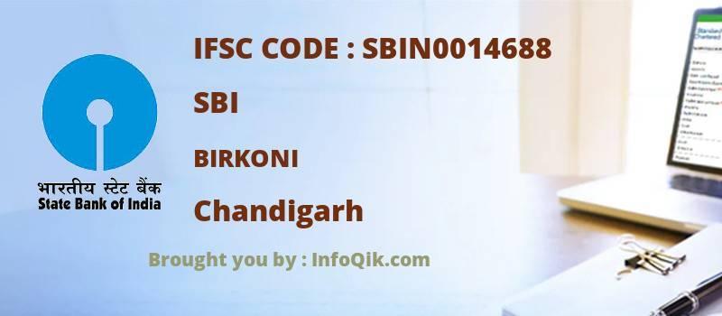 SBI Birkoni, Chandigarh - IFSC Code