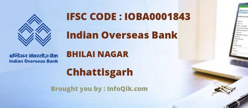 Indian Overseas Bank Bhilai Nagar, Chhattisgarh - IFSC Code