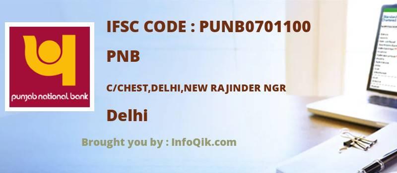 PNB C/chest,delhi,new Rajinder Ngr, Delhi - IFSC Code