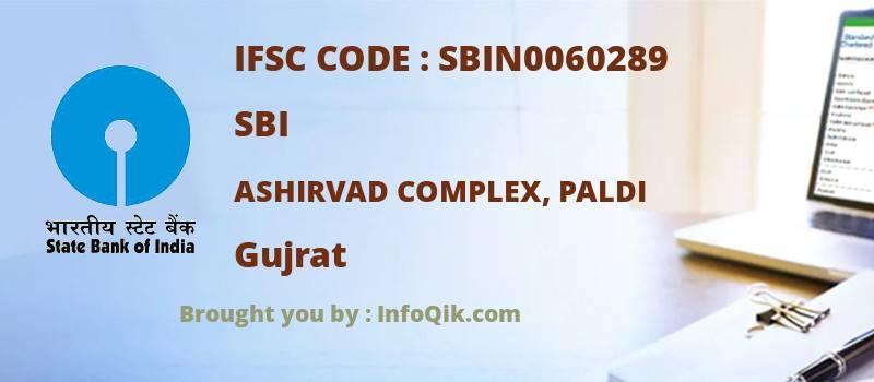 SBI Ashirvad Complex, Paldi, Gujrat - IFSC Code