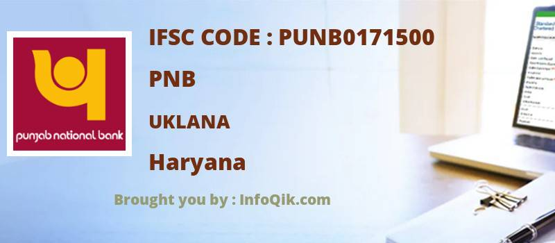 PNB Uklana, Haryana - IFSC Code