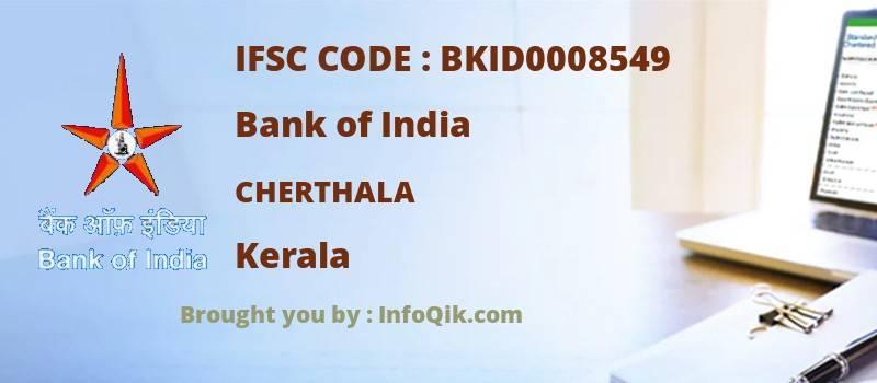 Bank of India Cherthala, Kerala - IFSC Code