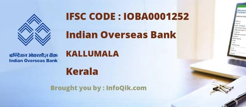 Indian Overseas Bank Kallumala, Kerala - IFSC Code