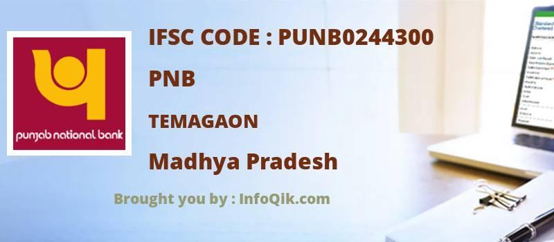 PNB Temagaon, Madhya Pradesh - IFSC Code