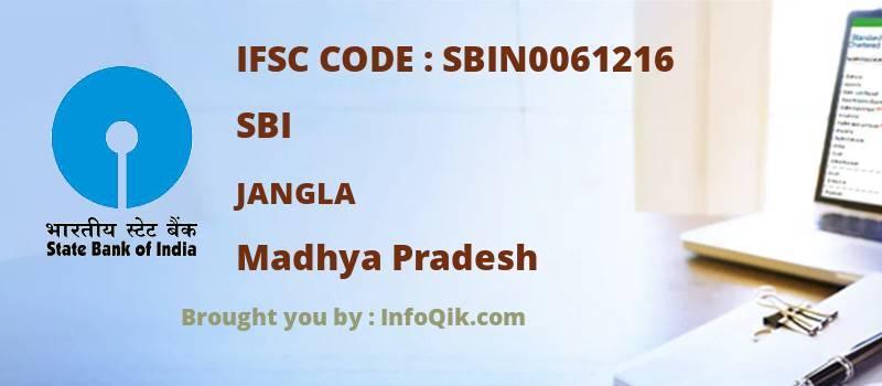 SBI Jangla, Madhya Pradesh - IFSC Code