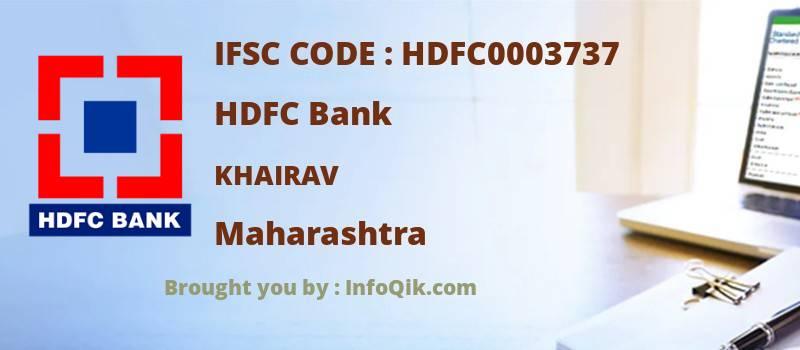 HDFC Bank Khairav, Maharashtra - IFSC Code