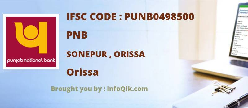 PNB Sonepur , Orissa, Orissa - IFSC Code