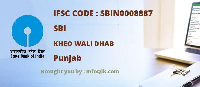 SBI Kheo Wali Dhab, Punjab - IFSC Code