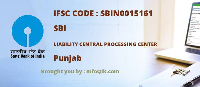 SBI Liability Central Processing Center, Punjab - IFSC Code