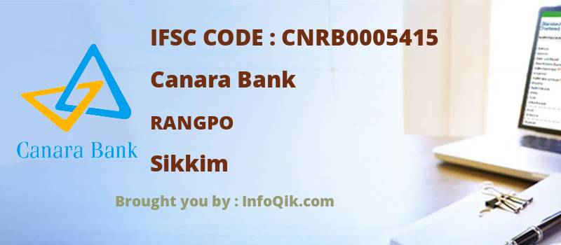 Canara Bank Rangpo, Sikkim - IFSC Code