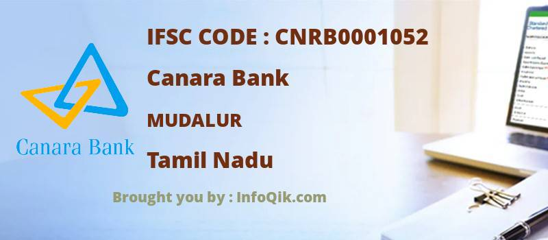 Canara Bank Mudalur, Tamil Nadu - IFSC Code