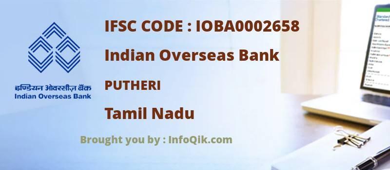 Indian Overseas Bank Putheri, Tamil Nadu - IFSC Code