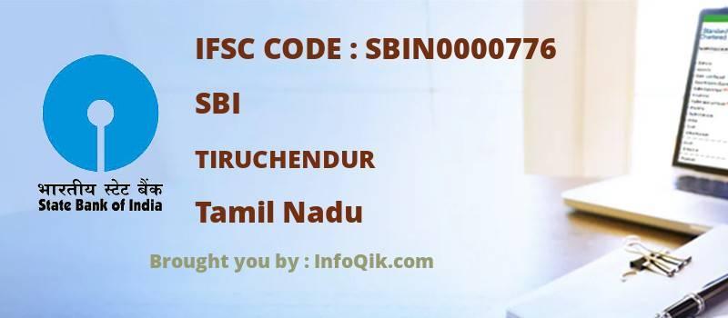 SBI Tiruchendur, Tamil Nadu - IFSC Code