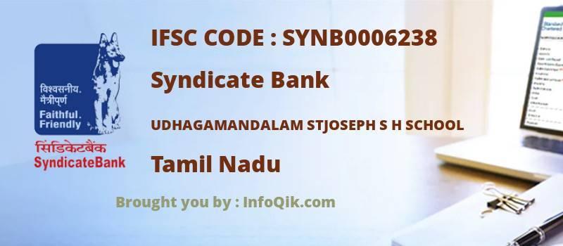Syndicate Bank Udhagamandalam Stjoseph S H School, Tamil Nadu - IFSC Code