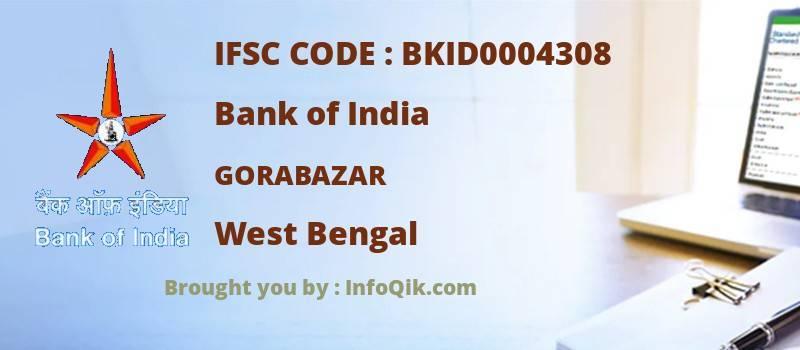Bank of India Gorabazar, West Bengal - IFSC Code