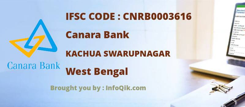 Canara Bank Kachua Swarupnagar, West Bengal - IFSC Code