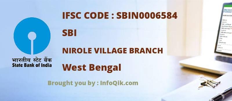 SBI Nirole Village Branch, West Bengal - IFSC Code