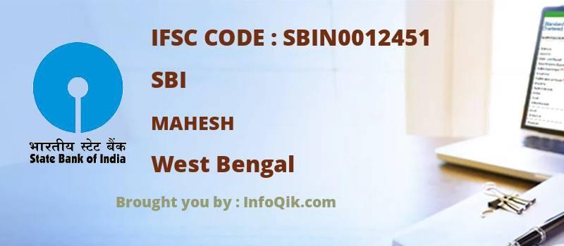 SBI Mahesh, West Bengal - IFSC Code